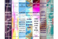 Marcadores de Livros - 7 Essências - Arte digital para ser impressa e produzir muitos produtos legais, confira na Loja Online FavasContadas!!!