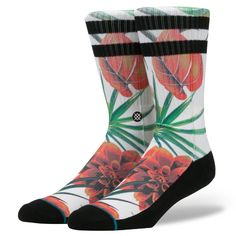 Stance | Wanderer Floral | Men's Socks | Official Stance.com