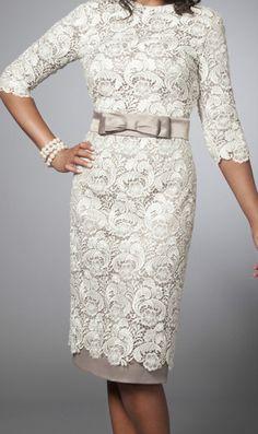 Lev Collection LV0180 Tznius Dress modest Lace Cocktail Dress Ivory   eBay