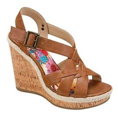 Size 6 Brown Wedges!