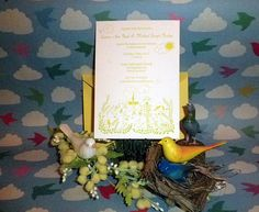 Custom Wedding Invitation by Parcel
