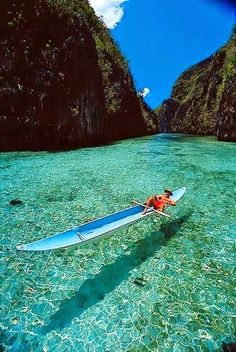 Perfect water in Busuanga, Philippines