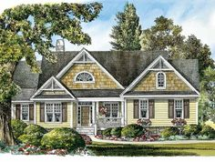 Eplans Craftsman House Plan - Country Appeal - 1971 Square Feet and 3 Bedrooms(s) from Eplans - House Plan Code HWEPL08401