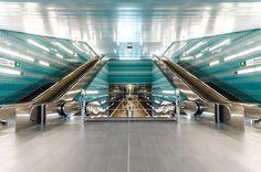 Hamburg Hafencity U-Bahn Überseequartier