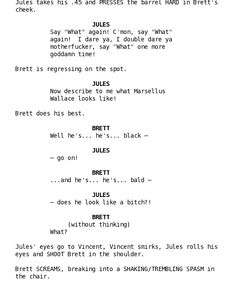 How To Write a Movie Script : How to Format Narrative When Writing ...