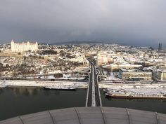 #winter #beautifulview #ufobratislava #slovakia