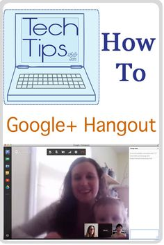 How to Google Hangout - Tech Tips - http://mellysews.com