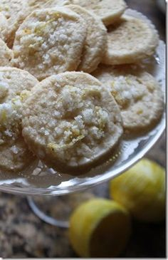 Sugar Cookies with Candied Zest
