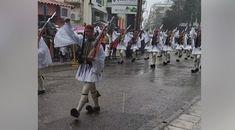Τα παλικάρια αυτά, δεν μασάνε! Σήμερα, στην Ξάνθη, οι Εύζωνες έκαναν παρέλαση υπό καταρρακτώδη βροχή! Αυτή είναι η Ελλάδα! Street View
