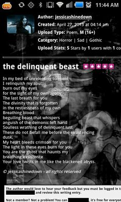 The Delinquent Beast