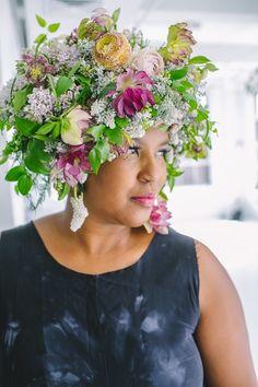 Flora & Fauna Fashion Show | Chapel Designer Conference NYC | Amanda Dumouchelle Photography