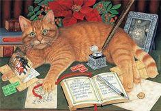 mimi vang olsen - sending out Christmas cards!