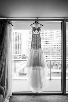 #janelleandstevetakemiami #weddingdress Photo: Tom Couture Weddings Dress & Veil: Custom Galia Lahav Wedding Coordinator: Catalan Productions Venue: Viceroy Miami  #modernbride #modernwedding #miamiwedding #modernluxury #modernluxurymagazine #galia #galialahav