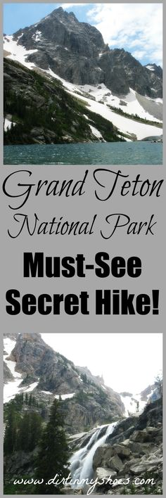 Trek to a 200 foot waterfall and a pristine alpine lake with this secret hike in Grand Teton National Park! Oh The Places You'll Go, Cool Places To Visit, Places To Travel, Vacation Places, Vacation Destinations, Vacation Spots, Us National Parks, Grand Teton National Park, Yellowstone Nationalpark