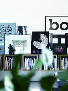 34 id es d co pour ranger des vinyles ranger et ikea. Black Bedroom Furniture Sets. Home Design Ideas
