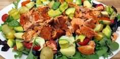 Gluten Free Bone Suckin' Salmon Salad Recipe