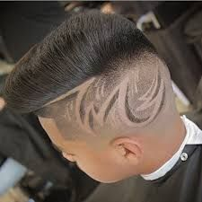 Innovative hair designs for women and men! Enjoy the gallery and the videos at the end! Haare Tattoo Designs, Hair Designs For Boys, Fade Haircut Designs, Shaved Hair Designs, Faded Hair, Hair Tattoos, Boy Hairstyles, Beard Styles, Hair Art