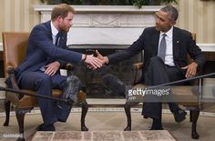 President Obama Welcomes UK's Prince Harry To White House | Getty Images