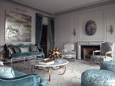 The Designer's Muse: Turqoise Love: Chahan Minassian in Paris