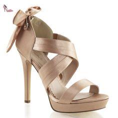 SALE! Fabulicious High Heel Sandalette Lumina-29 braun