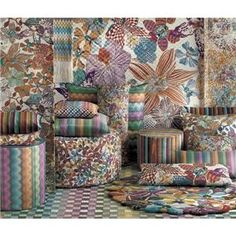 orchidee pillow collection by missoni home