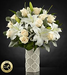The FTD® Pure Opulence™ Luxury Bouquet - Deluxe