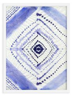 Ayelet Iontef, Batik Dots in Blue