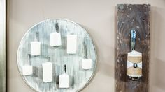 DIY Spoon Candle Holder - repurpose old aluminum spoons into fancy candle holders for your home! DIY by @tmemme28 on Home and Family!