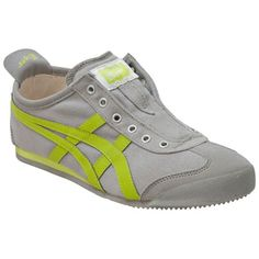 Buy Grey Onitsuka Tiger Women's Mexico 66 Slip On Low-Top Sneaker shoes