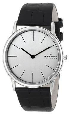 Amazon.com: Skagen Men's 858XLSLC Theodor Quartz Two-Hand Stainless Steel Watch: Skagen: Watches