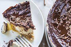 Mocha maple cheesecake
