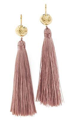 Leucadia Tassel Earrings