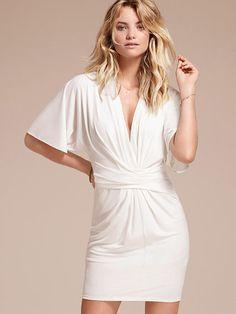 Tie-waist Dress (Flutter Sleeve Dress)