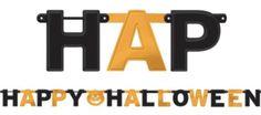 Kid-Friendly Halloween Decorations - Tableware, Decorations & More - Party City Halloween School Treats, Halloween Ball, Halloween Party Decor, Halloween Costumes For Kids, Happy Halloween, Halloween Stuff, Halloween Letters, Kids Party Supplies, Lettering
