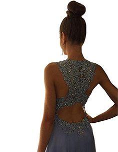 Yangprom Gorgeous A-Line High Neck Lace Prom Dress Beadin... https://www.amazon.com/dp/B01C41819O/ref=cm_sw_r_pi_dp_x_dilGybQQSAYJG