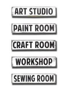 room sign - Barn Owl Primitives  - 1