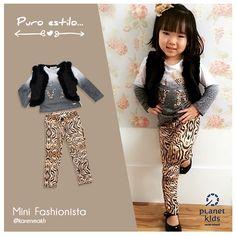 Muito estilo para sua princesa!