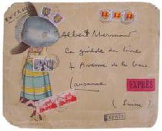 enveloppe de Jacques Prévert