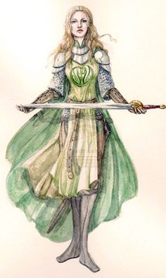 Eowyn in armour