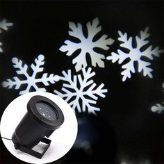 (36.99$)  Buy here - http://ai2o2.worlditems.win/all/product.php?id=32799381779 - Free Shipping New Auto Moving white Snowflakes Christmas Holiday Lights Outdoor Waterproof Projection Snow Lights