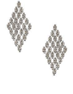 Slinky Diamond Glamorous Earrings