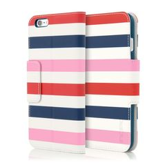 Caroline Lightweight Printed Wallet Folio for iPhone 6 Plus