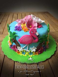 Flamingo Cake, Flamingo Party, Chocolates, Unicorn Birthday, Birthday Cake, Bolo Frozen, Golden Birthday, Cupcakes, Tropical Party