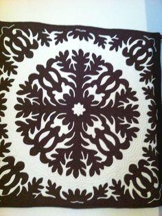 My very own Hawaiian quilt I got in Maui love!!