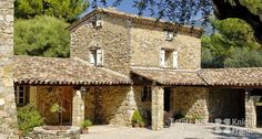 Large Provencal Stone Bastide with Pool in Le Rour...