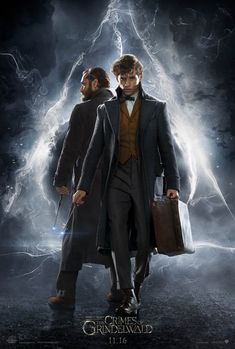 Extra Large Movie Poster Image for Fantastic Beasts: The Crimes of Grindelwald