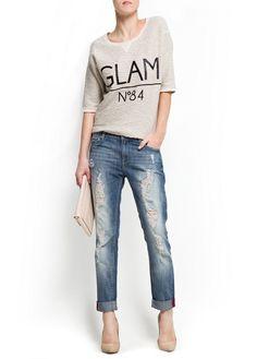 Glam sweatshirt