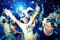 イビサの「泡パーティ」を日本でも!2015年一発目は渋谷で3月に開催決定 | RETRIP