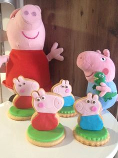Biscoitos Decorados Peppa Pig  Peppa Cookies