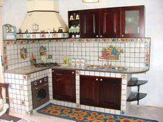 96 best Cucina in muratura images on Pinterest | Kitchen ideas ...
